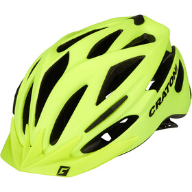 Cratoni Pacer MTB Helmet neon yellow matte